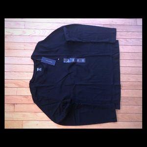 Women's Tommy Hilfiger LS Crewneck shirt Black NWT